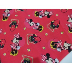 TELA DISNEY MINNIE CON BRILLANTES 14€ metro