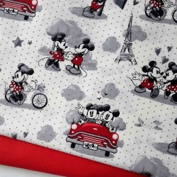 TELA DISNEY MINNIE AND MICKEY PARIS 14€ metro