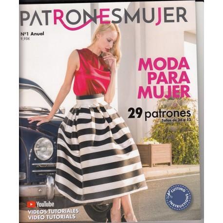 PATRONES MUJER Nº1 9,95€