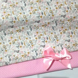 RETAL ESTAMPADO MINI ROSA 2€