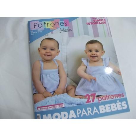 "REVISTA ""PATRONES"" ESPECIAL BEBE Nº2 A 9,95 €"