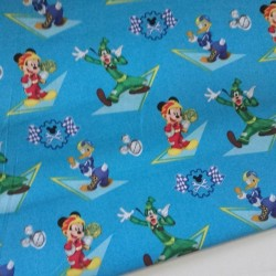 TELAS INFANTILES DISNEY MICKEY AND FRIENDS 14€ metro