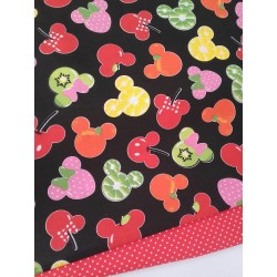 TELA MINNIE FRUITS NEGRO 8€ metro