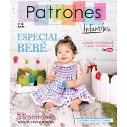 REVISTA PATRONES BEBE Nº13 - 9.95€ unidad