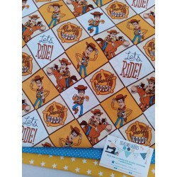 TELA DISNEY TOY STORY WOODY 14€ metro
