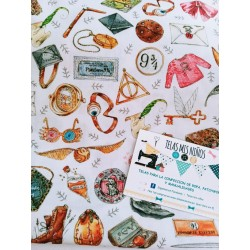 TELA HARRY POTTER OBJETOS 9€ metro