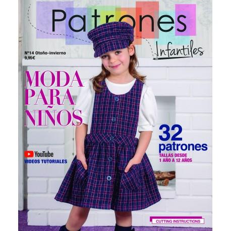REVISTA PATRONES INFANTILES Nº14 - 9.95€ unidad