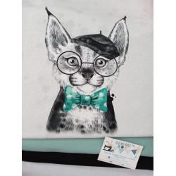 PANEL SUDADERA BOHEMIAN CAT 6.95€ unidad