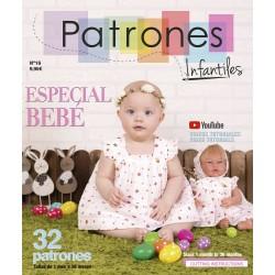 REVISTA PATRONES BEBE Nº16 - 9.95€ unidad